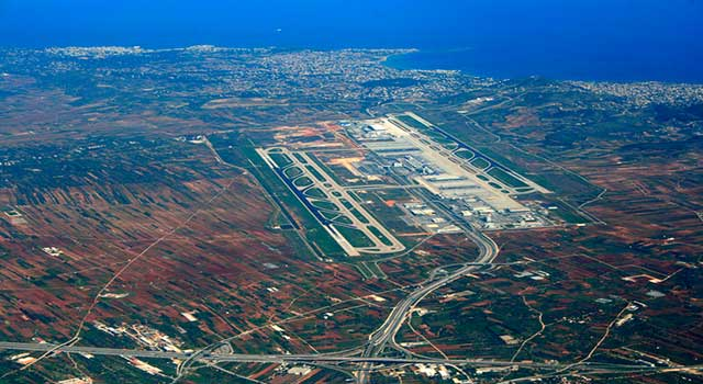 The official name of the aiport is Elefthérios Venizélos Airport and is Greece's busiest airport with more than 18M passengersa.